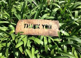 Gratitude – how do you show it?