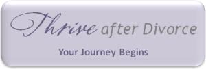 Thrive after Divorce-The Journey Begins Logo
