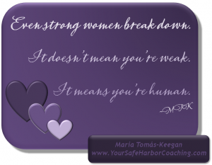 MTK 4 - Strong women break down