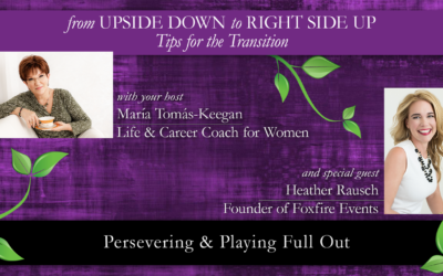 Persevering & Playing Full Out: A Conversation with Heather Rausch