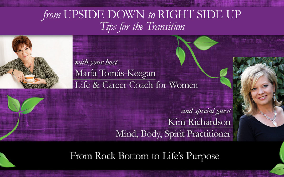 From Rock Bottom to Life's Purpose: A Conversation with Kim Richardson