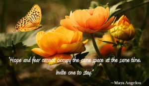 Divorce Quote about Fear by Maya Angelou